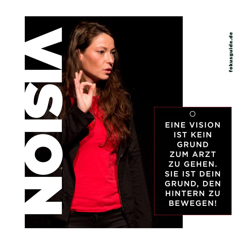 Vision ist kein Grund zum Arzt zu gehen